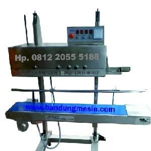bandung mesin, pusat mesin bandung, mesin bandung, agen mesin bandung, toko mesin bandung, mesin pengemas bandung Continuos Band Sealer frm-1120